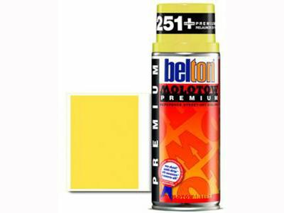 MOLOTOW PREMIUM 400ML 232 NEON YELLOW