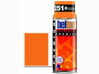MOLOTOW PREMIUM 400ML 233 NEON ORANGE
