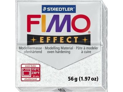 FIMO EFFECT BOETSEERKLEI 052 56GRAMS METALLIC WIT