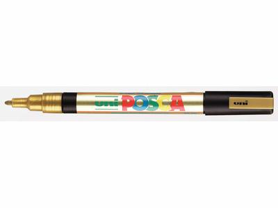 UNI-POSCA STIFT F PC3 GOUD PC3OR