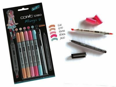 COPIC CIAO SET 5+1 (MULTILINER) MANGA 7