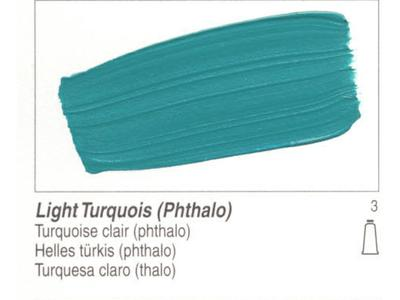 GOLDEN ACRYLVERF 59ML 1564 S3 LIGHT TURQUOIS (PHTHALO)