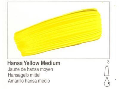 GOLDEN OPEN ACRYLIC 59ML 7190 S3 OPEN HANSA YELLOW MEDIUM
