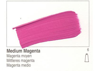 GOLDEN ACRYLVERF 59ML 1570 S6 MEDIUM MAGENTA