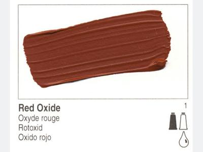 GOLDEN OPEN ACRYLIC 59ML 7360 S1 OPEN RED OXIDE