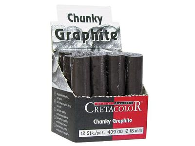 CHUNKY GRAPHITE 18MM DIK 409.00