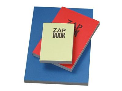 CF ZAP BOOK 11X15CM SOFTCOVER 80GR WIT, 160 VEL