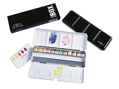 WINSOR & NEWTON BLACKBOX 12X1/2N +12XLEEG 1