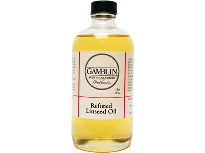 GAMBLIN REFINED LINSEED OIL 237ML