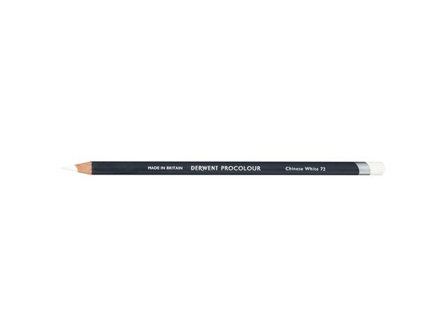 DERWENT PROCOLOUR KLEURPOTLOOD 72 CHINESE WHITE 1