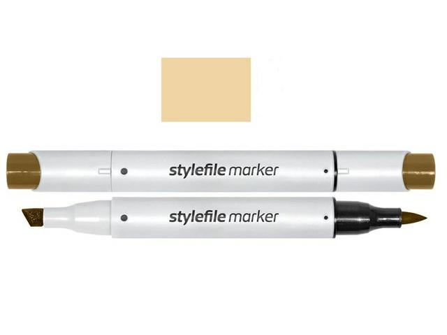 STYLEFILE BRUSH MARKER 114 BROWN GREY 1