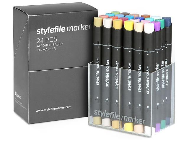 STYLEFILE MARKERSET 24MB 24-DELIG MAIN B 1