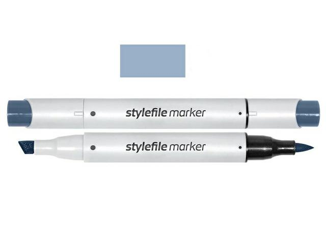 STYLEFILE BRUSH MARKER CG4 COOL GREY 4 1