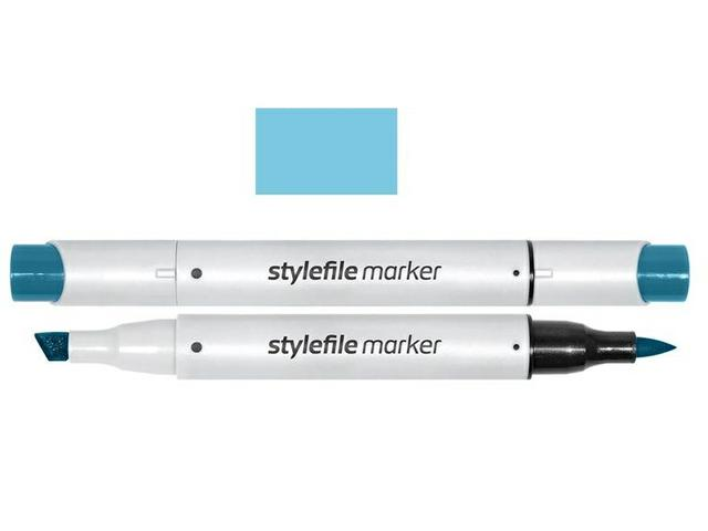 STYLEFILE BRUSH MARKER 516 BABY BLUE 1