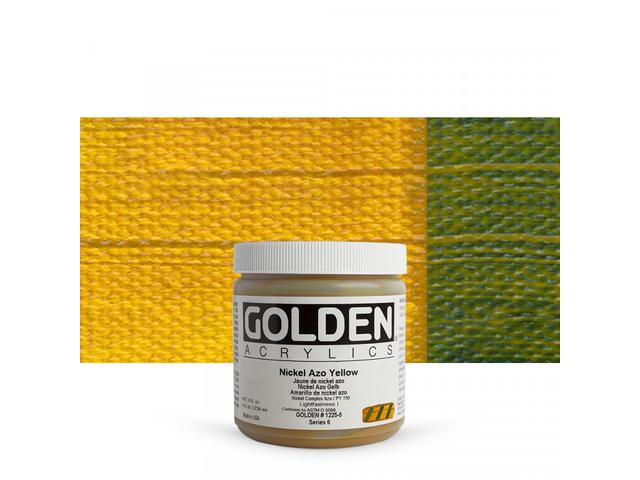GOLDEN ACRYLVERF 237ML 1225 S6 NICKEL AZO YELLOW 1