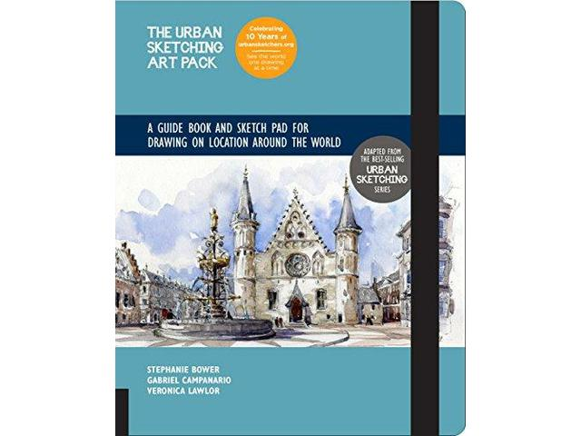 URBAN SKETCHING ART PACK 1