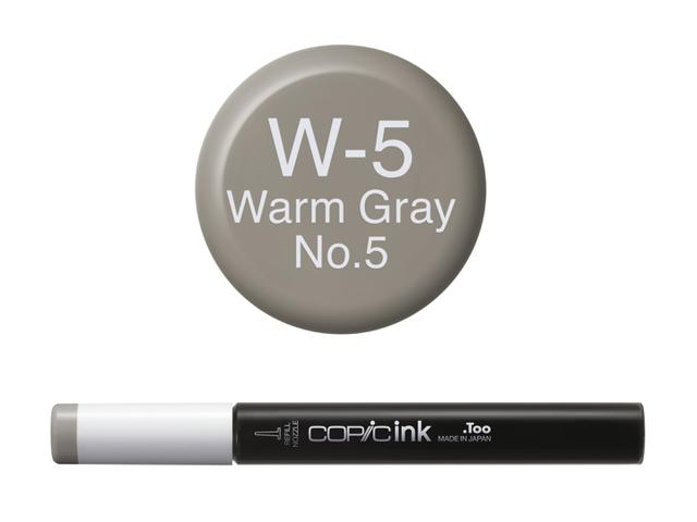 COPIC INKT NW W5 WARM GRAY 5 1