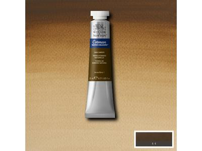 WINSOR & NEWTON COTMAN AQUAREL 21ML 554 RAW UMBER 1