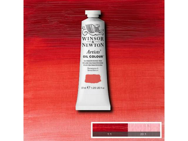 WINSOR & NEWTON OLIEVERF 37ML S4 548 QUINACRIDONE RED 1