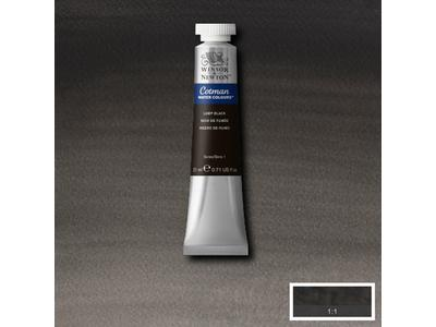 WINSOR & NEWTON COTMAN AQUAREL 21ML 337 LAMP BLACK 1
