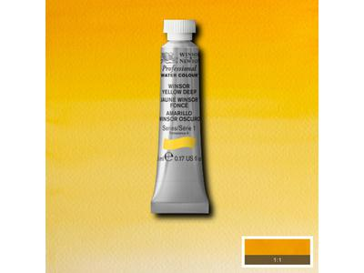 W&N AQUARELVERF TUBE 5ML S1 WINSOR YELLOW
