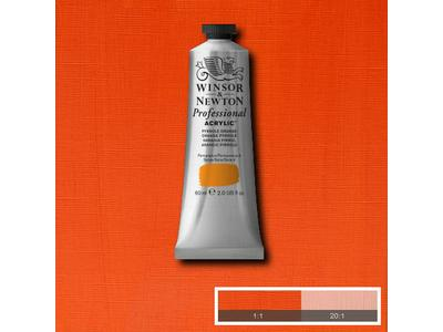 WINSOR & NEWTON ARTIST ACRYLVERF 60ML S4 PERYLENE ORANGE 1