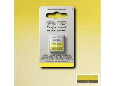 WINSOR & NEWTON AQUARELVERF 1/2 NAPJE S4 LEMON YELLOW HUE NC 1