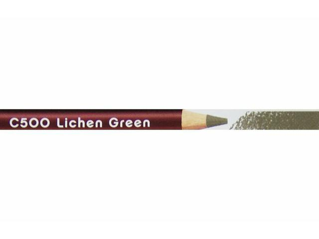 DERWENT COLOURSOFT KLEURPOTLOOD 500 LICHEN GREEN 1