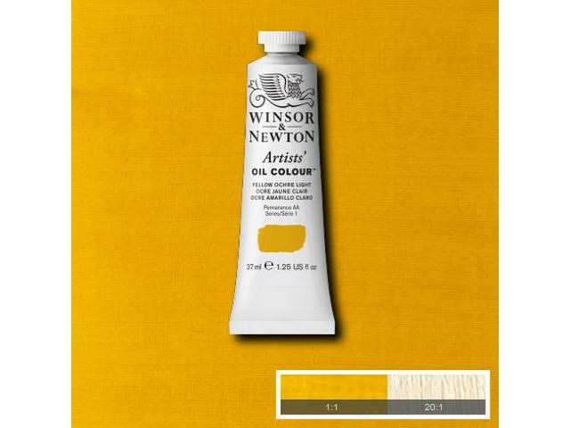 WINSOR & NEWTON OLIEVERF 37ML S1 745 YELLOW OCHRE LIGHT 1
