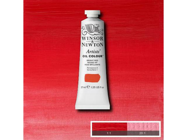 WINSOR & NEWTON OLIEVERF 37ML S1 042 BRIGHT RED 1