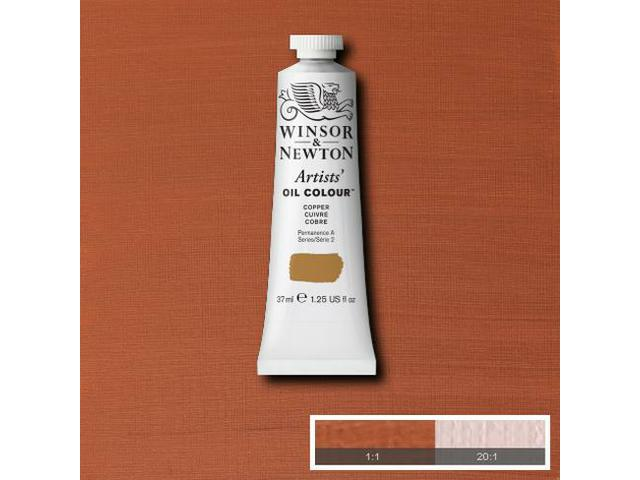 WINSOR & NEWTON OLIEVERF 37ML S2 214 COPPER 1