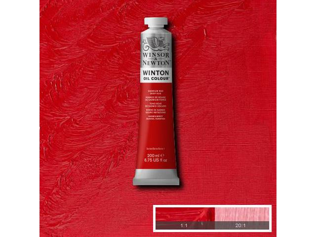 W&N WINTON OLIEVERF 200ML CADMIUM YELLOW HUE