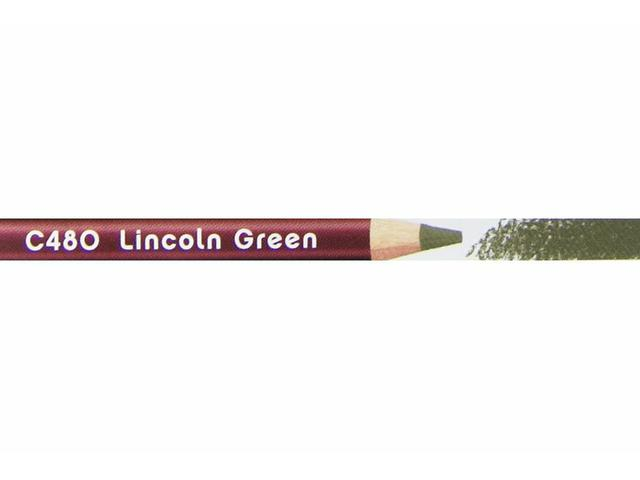 DERWENT COLOURSOFT KLEURPOTLOOD 480 LINCOLN GREEN 1