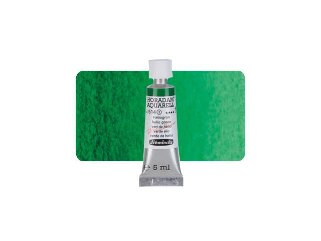 SCHMINCKE HORADAM AQUAREL TUBE 5ML S2 514 HELIOGROEN 1