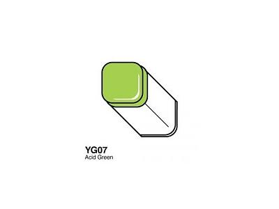 COPIC MARKER YG07 ACID GREEN 1