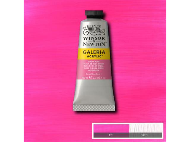 W&N GALERIA TUBE 60ML 448 OPERA ROSE 1