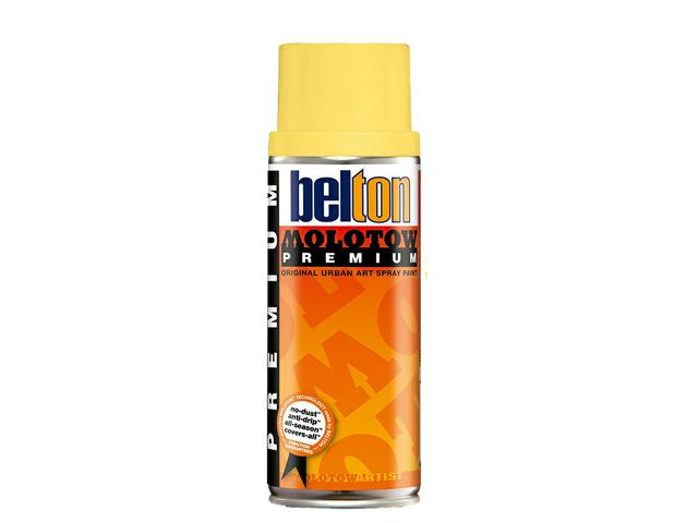 MOLOTOW PREMIUM 400ML 007 CASHMERE YELLOW 1