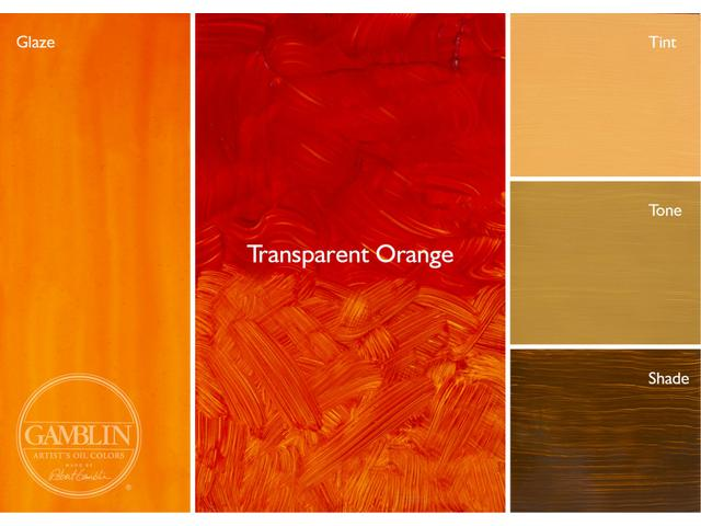 GAMBLIN 37ML S3 1681 TRANSPARENT EARTH ORANGE AG