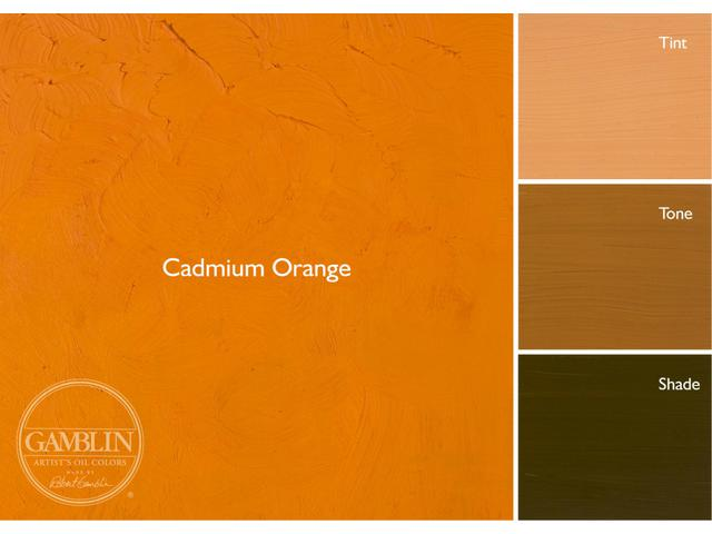 GAMBLIN 37ML S4 1125 CADMIUM ORANGE DEEP AG