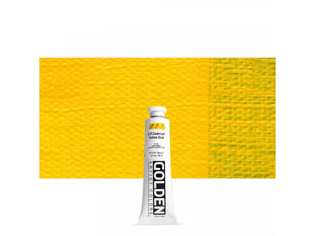 GOLDEN HEAVY BODY 59ML 1110 S7 CADMIUM YELLOW DARK 1