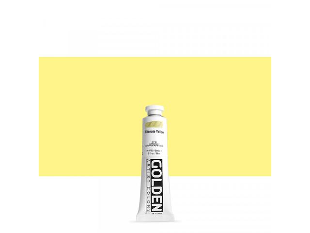 GOLDEN HEAVY BODY 59ML 1375 S1 TITANATE YELLOW 1