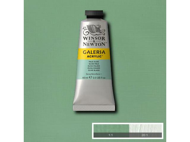 W&N GALERIA TUBE 60ML 434 PALE LEMON