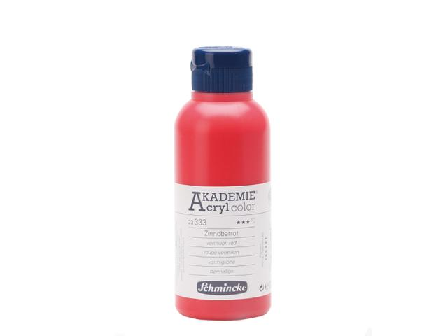 AKADEMIE ACRYL 250ML S1 KADMIUMROTTON
