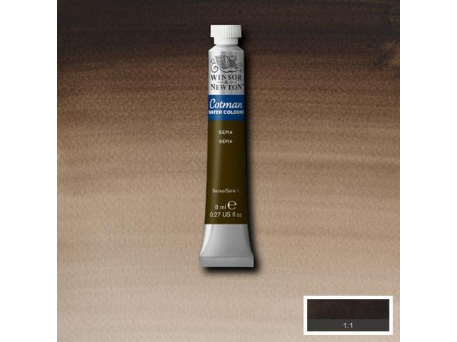 W&N AQUARELVERF TUBE 5ML S1 BROWN OCHRE