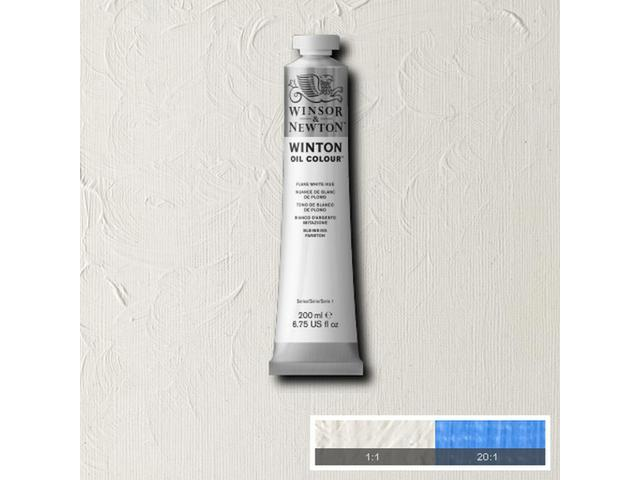 WINSOR & NEWTON WINTON OLIEVERF 200ML SOFT MIXING WHITE 1