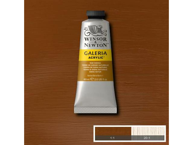W&N GALERIA TUBE 60ML 553 RAW SIENNA OPAQUE