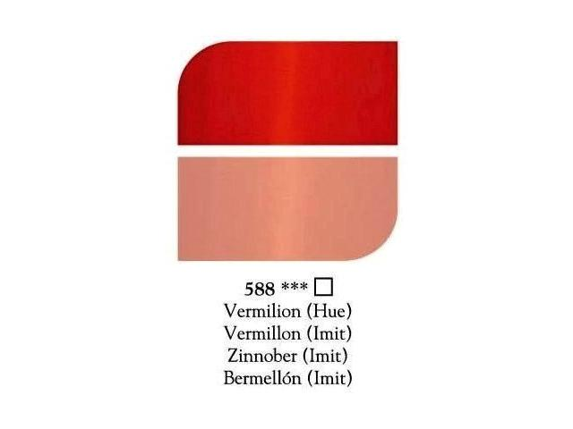 DALER ROWNEY GEORGIAN OLIEVERF 225ML VERMILLION(IMIT) 1