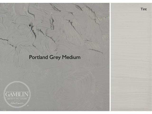 GAMBLIN 37ML S2 1552 PORTLAND GREY MEDIUM AG 1