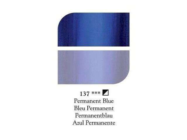 DALER ROWNEY GEORGIAN OLIEVERF 225ML PERMANENT BLUE 1
