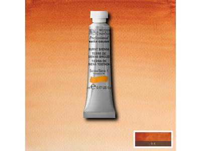 W&N AQUARELVERF TUBE 5ML S1 BURNT UMBER